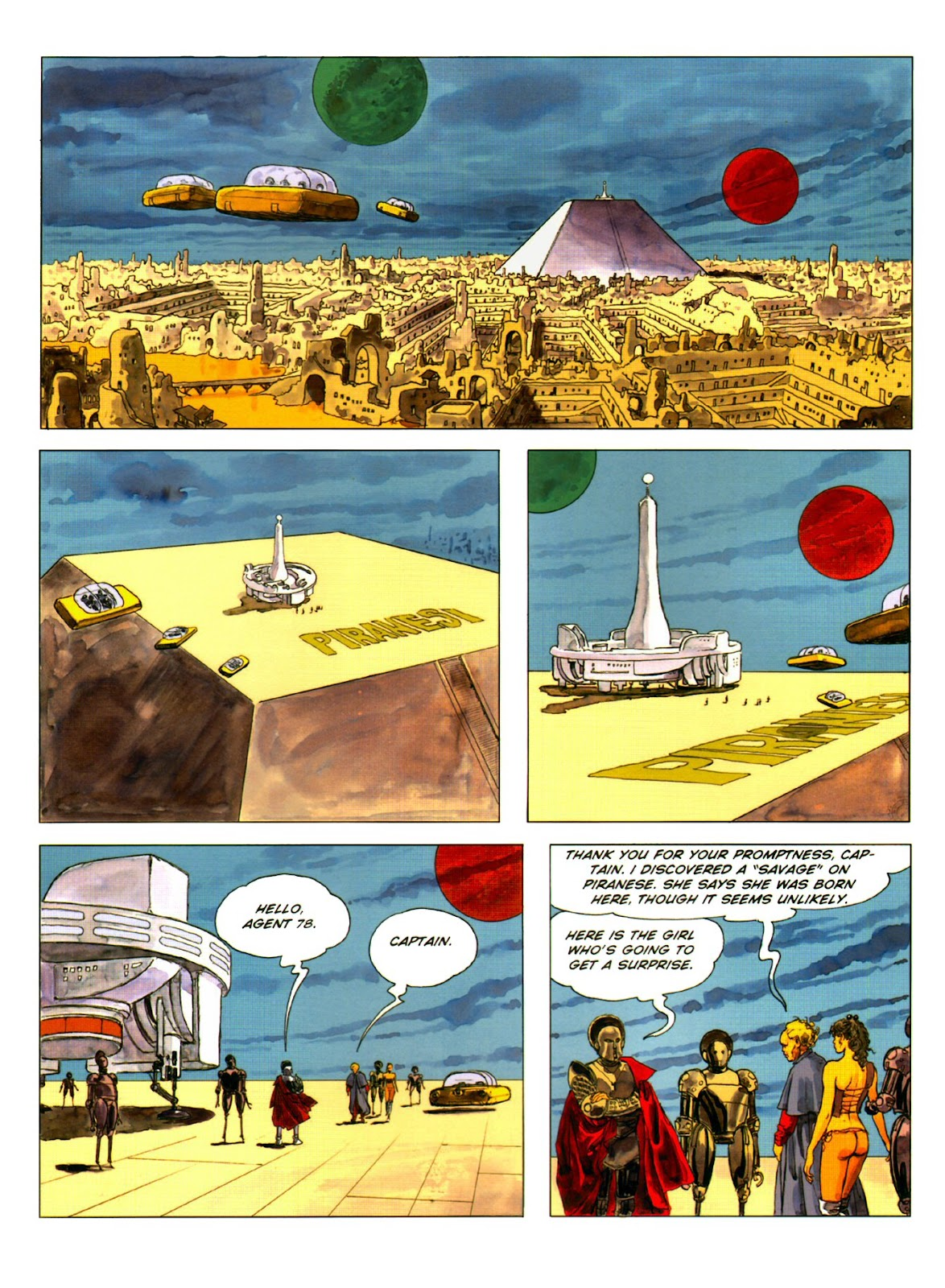 Read online Piranese The Prison Planet comic -  Issue # Full - 31