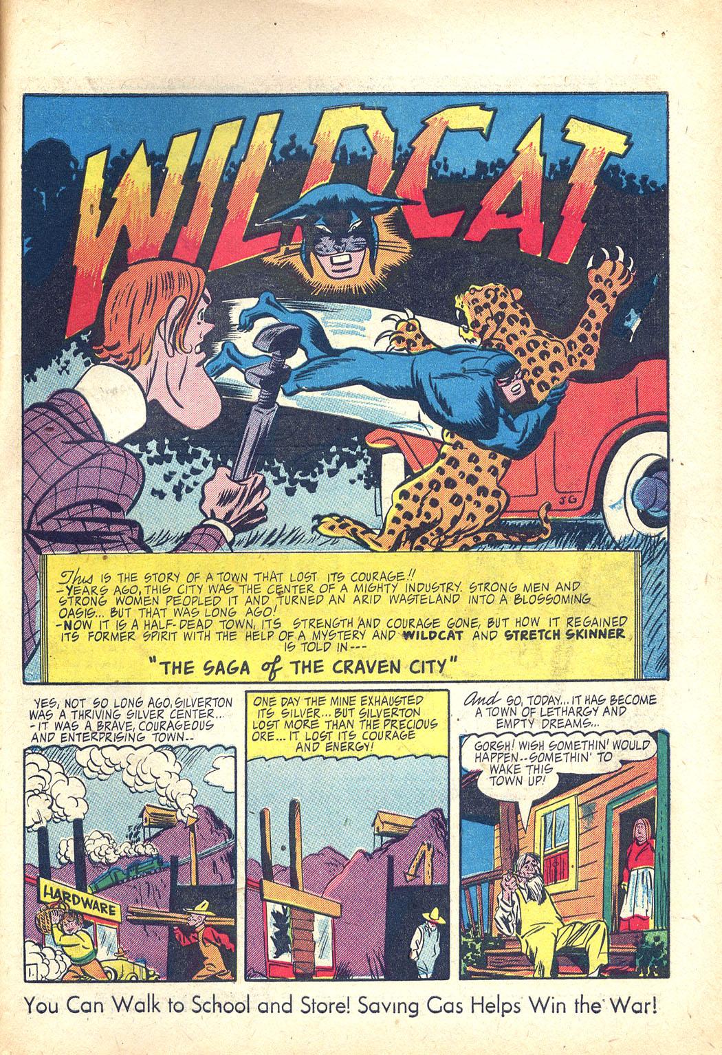 Read online Sensation (Mystery) Comics comic -  Issue #34 - 41