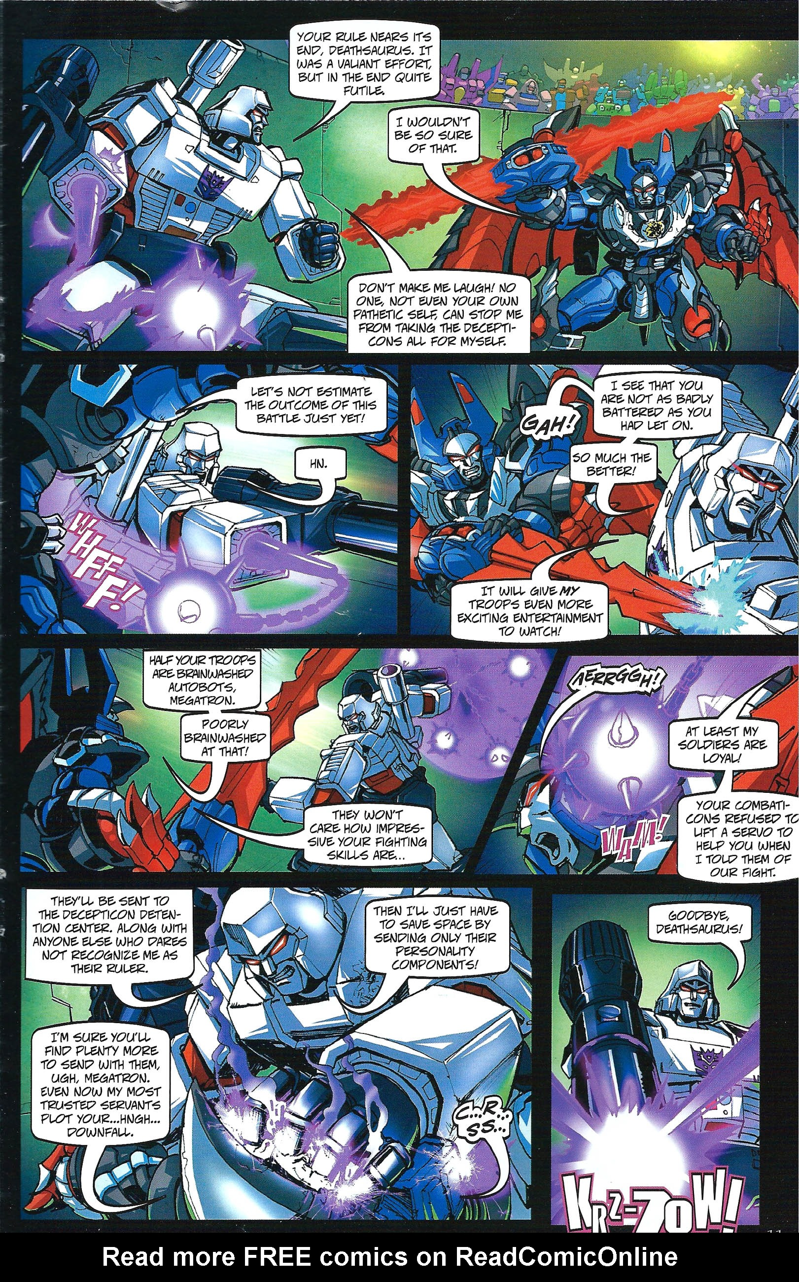 Read online Transformers: Collectors' Club comic -  Issue #41 - 11