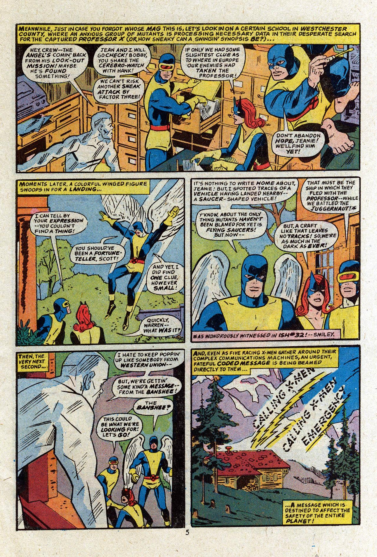 Read online Uncanny X-Men (1963) comic -  Issue #83 - 7