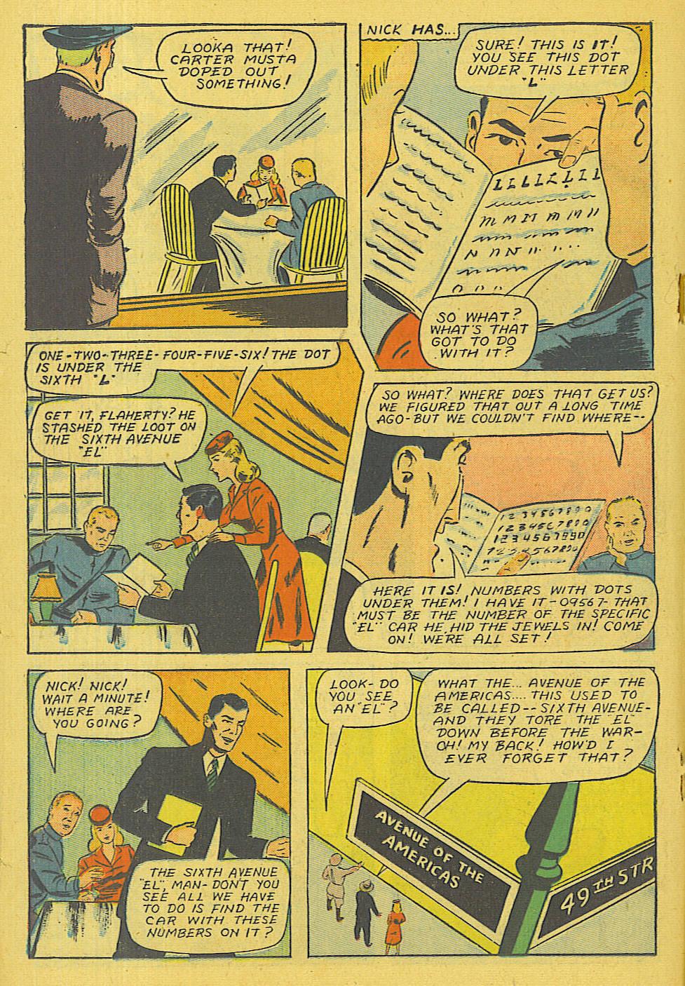Read online Shadow Comics comic -  Issue #71 - 19