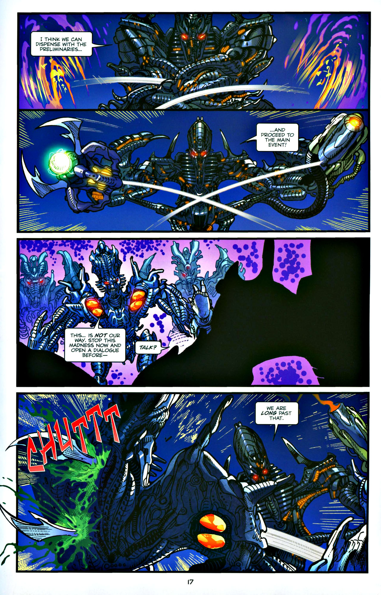 Read online Transformers: Tales of The Fallen comic -  Issue #4 - 18