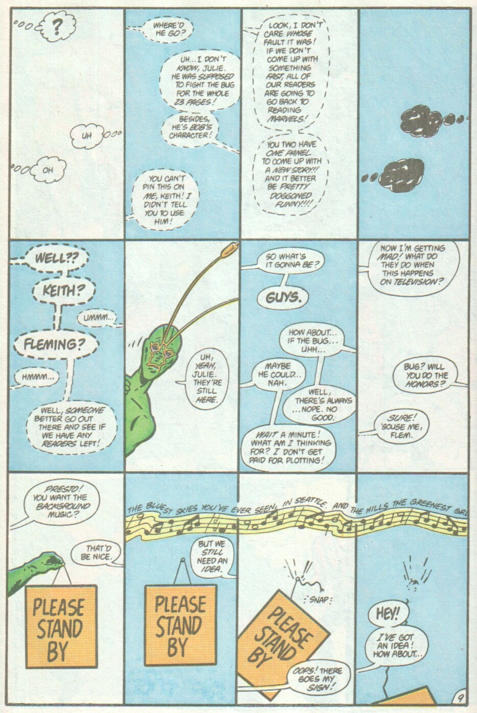 Read online Ambush Bug comic -  Issue #4 - 10