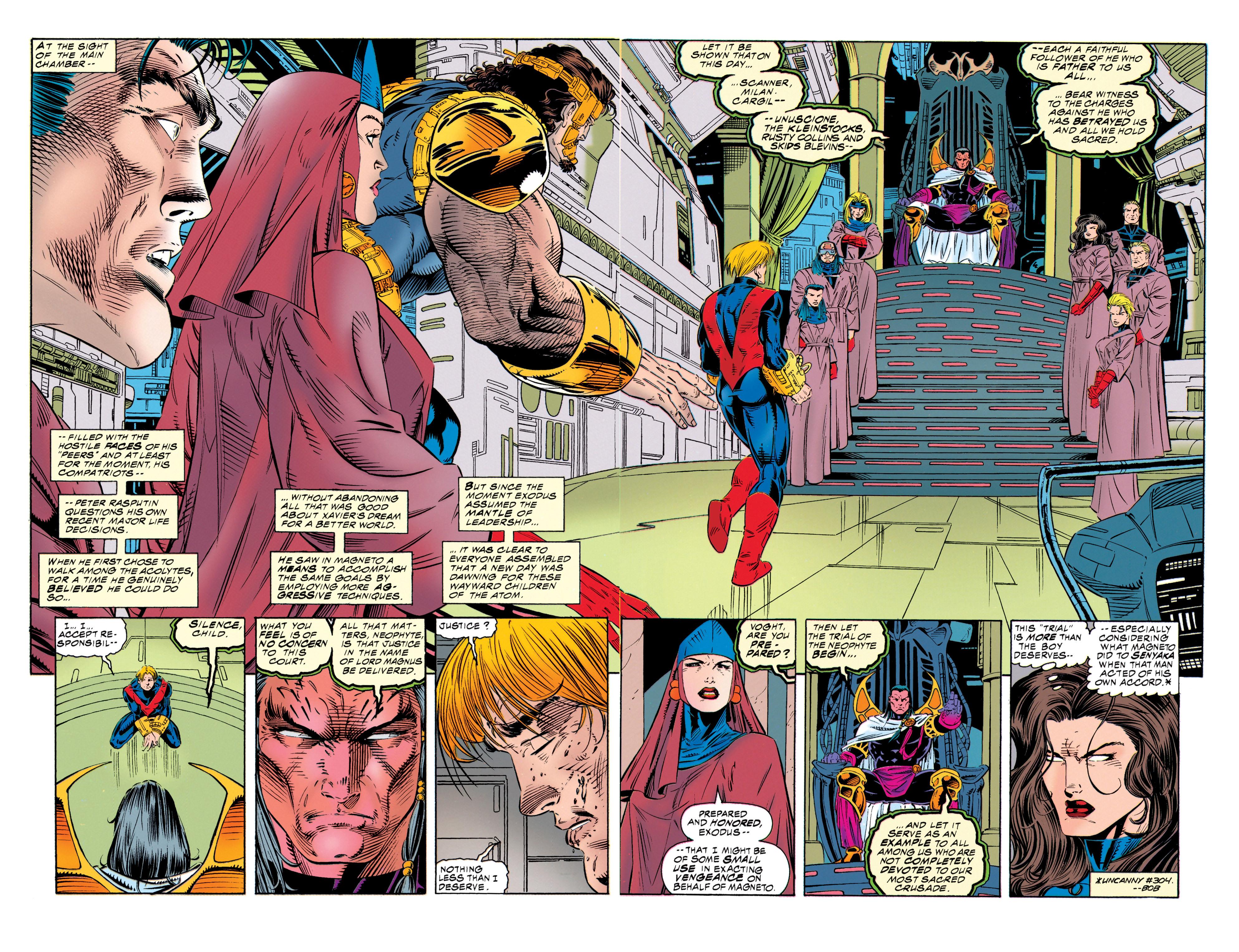 Read online Uncanny X-Men (1963) comic -  Issue #315 - 10