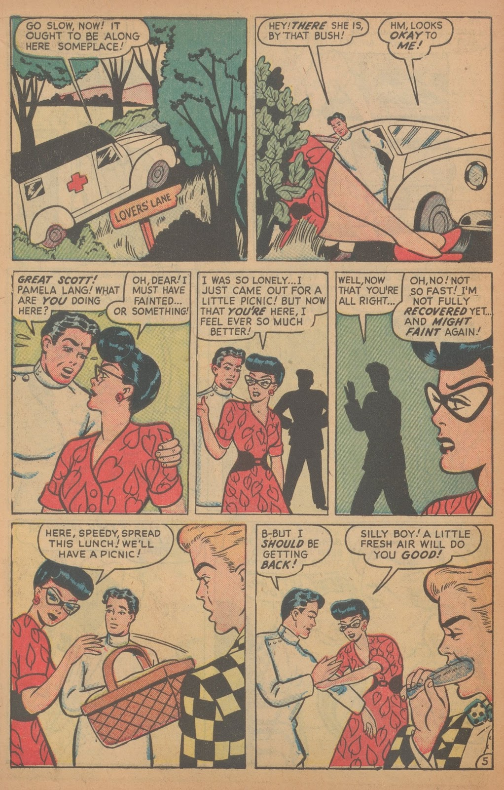Read online Nellie The Nurse (1945) comic -  Issue #18 - 14