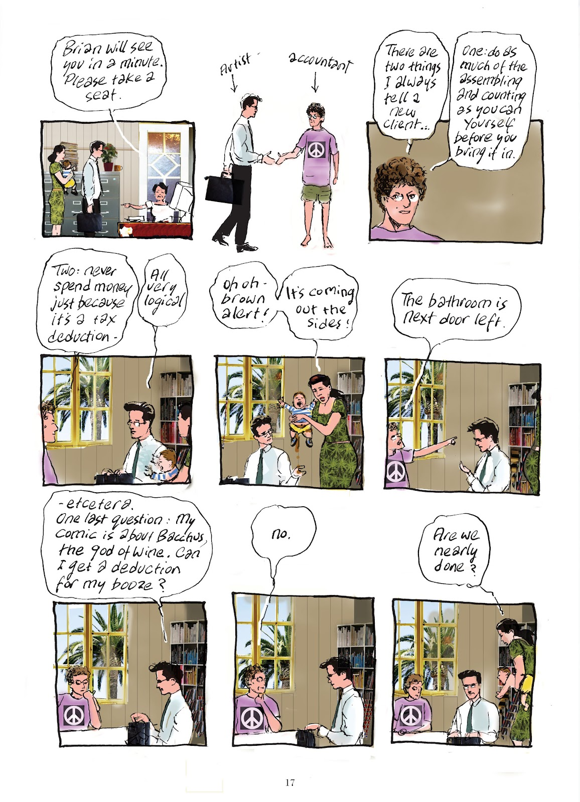 Read online The Lovely Horrible Stuff comic -  Issue # TPB - 19