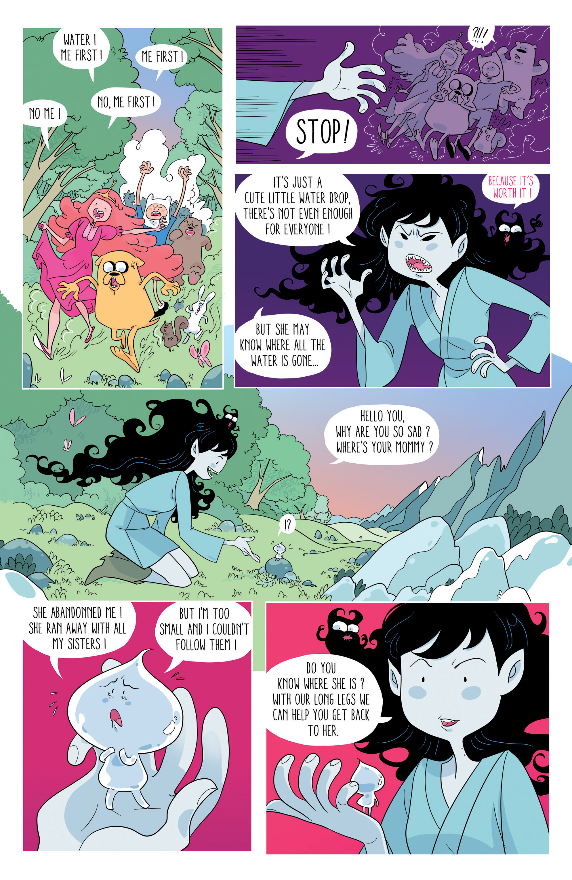 Read online Adventure Time comic -  Issue #46 - 21