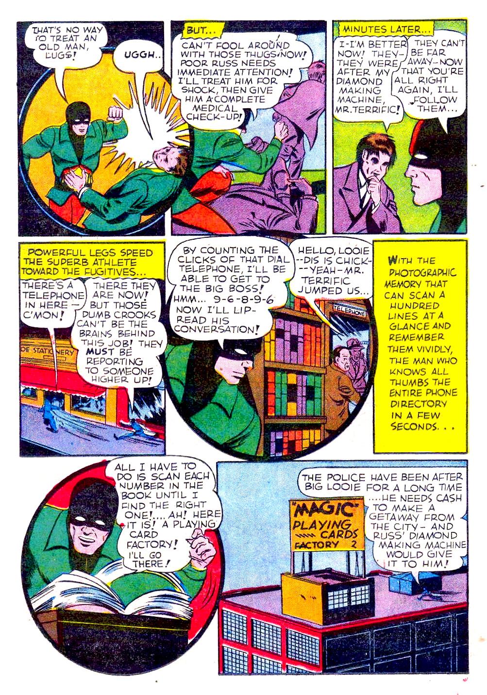 Read online Sensation (Mystery) Comics comic -  Issue #29 - 44