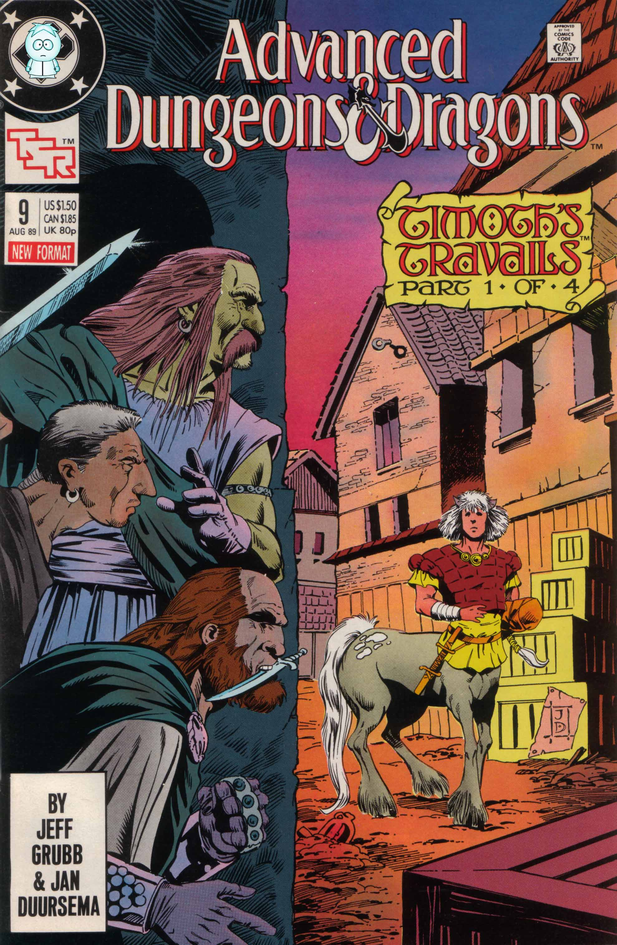 Read online Advanced Dungeons & Dragons comic -  Issue #9 - 1