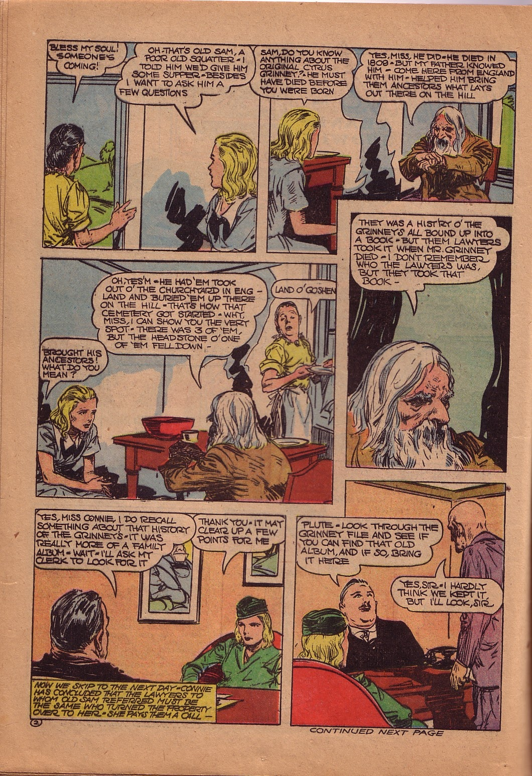 Read online Famous Funnies comic -  Issue #107 - 17