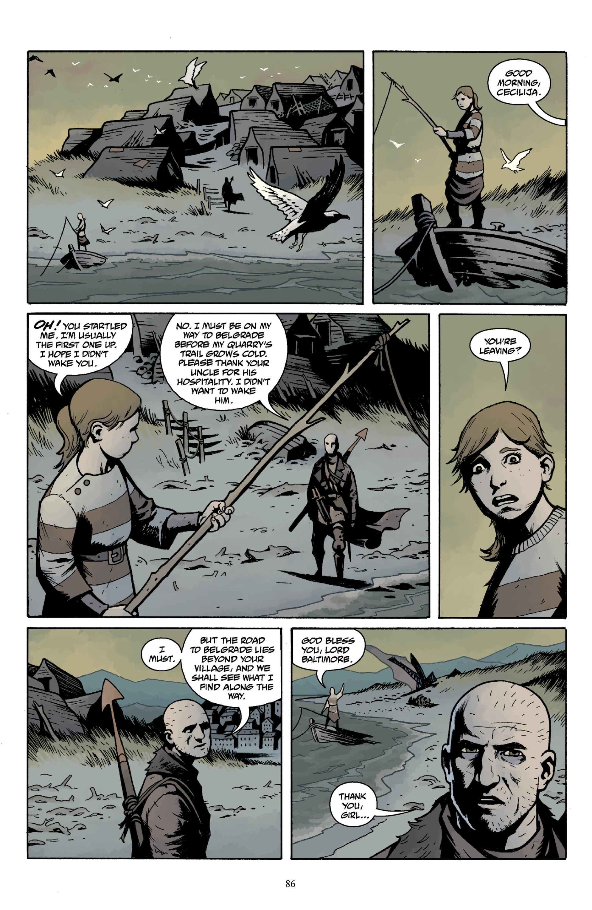 Read online Baltimore Volume 3: A Passing Stranger and Other Stories comic -  Issue # Full - 88
