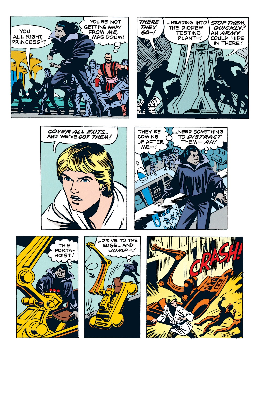 Read online Star Wars Legends: The Newspaper Strips - Epic Collection comic -  Issue # TPB (Part 3) - 45