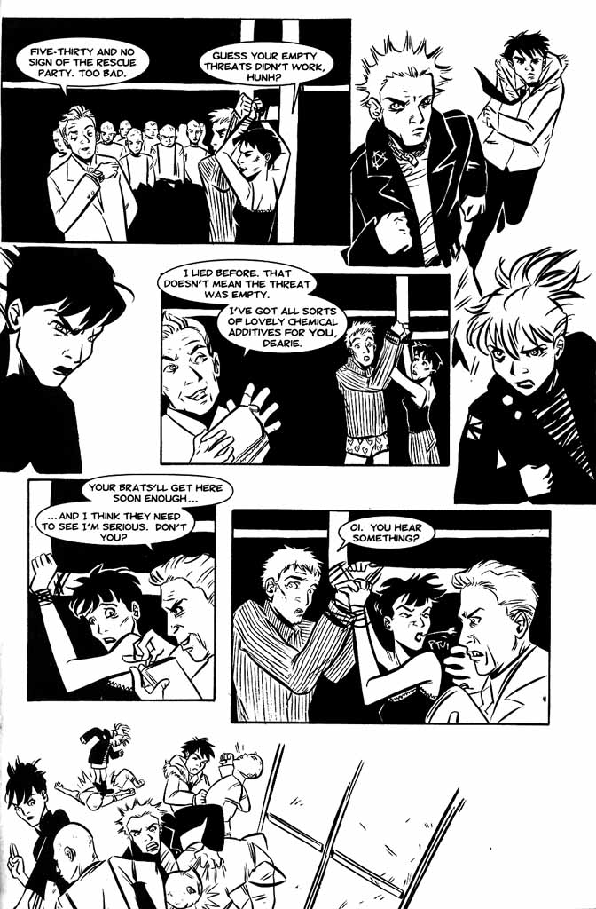 Read online Hopeless Savages comic -  Issue #3 - 25