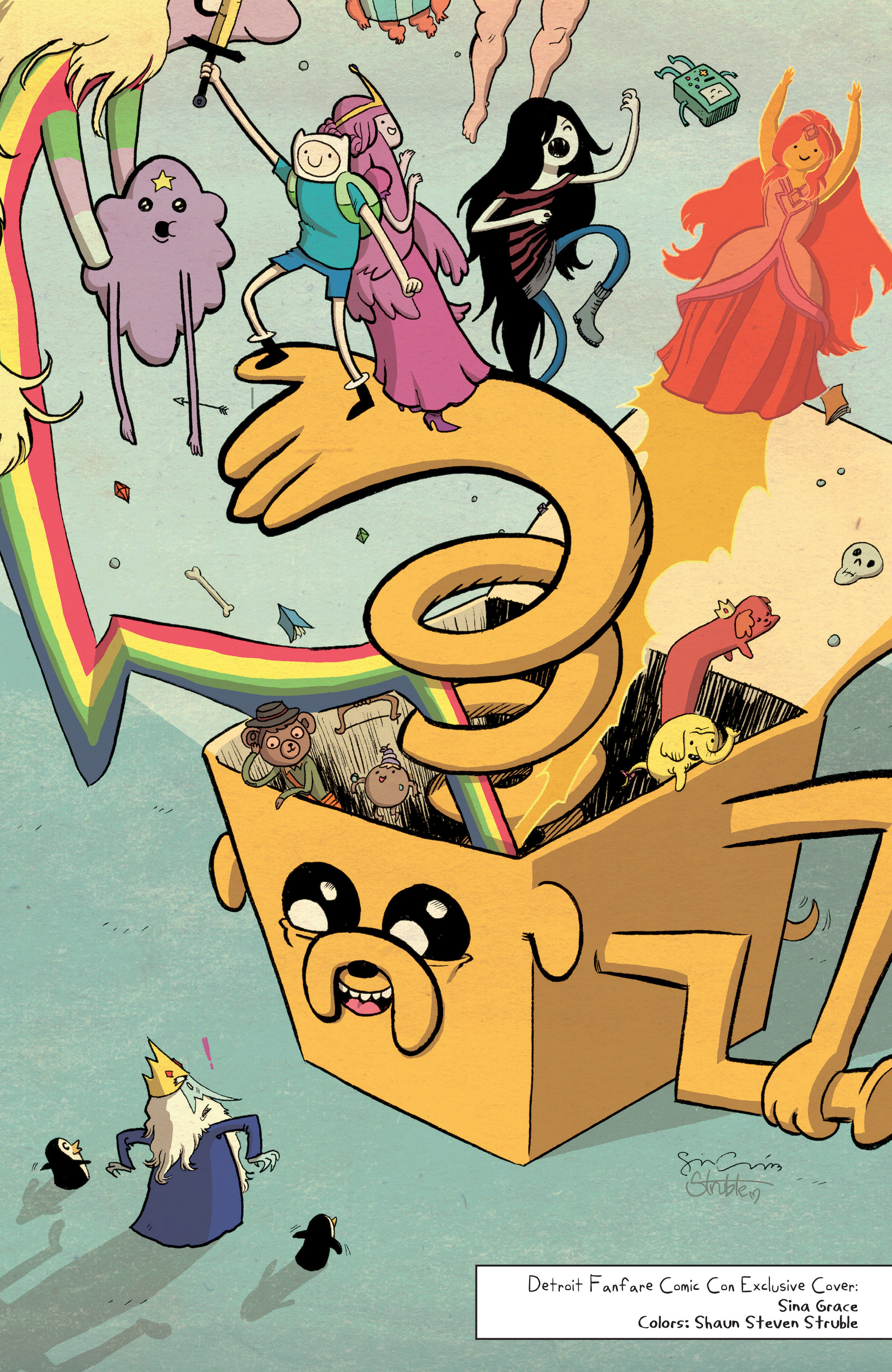 Read online Adventure Time comic -  Issue #Adventure Time _TPB 5 - 103