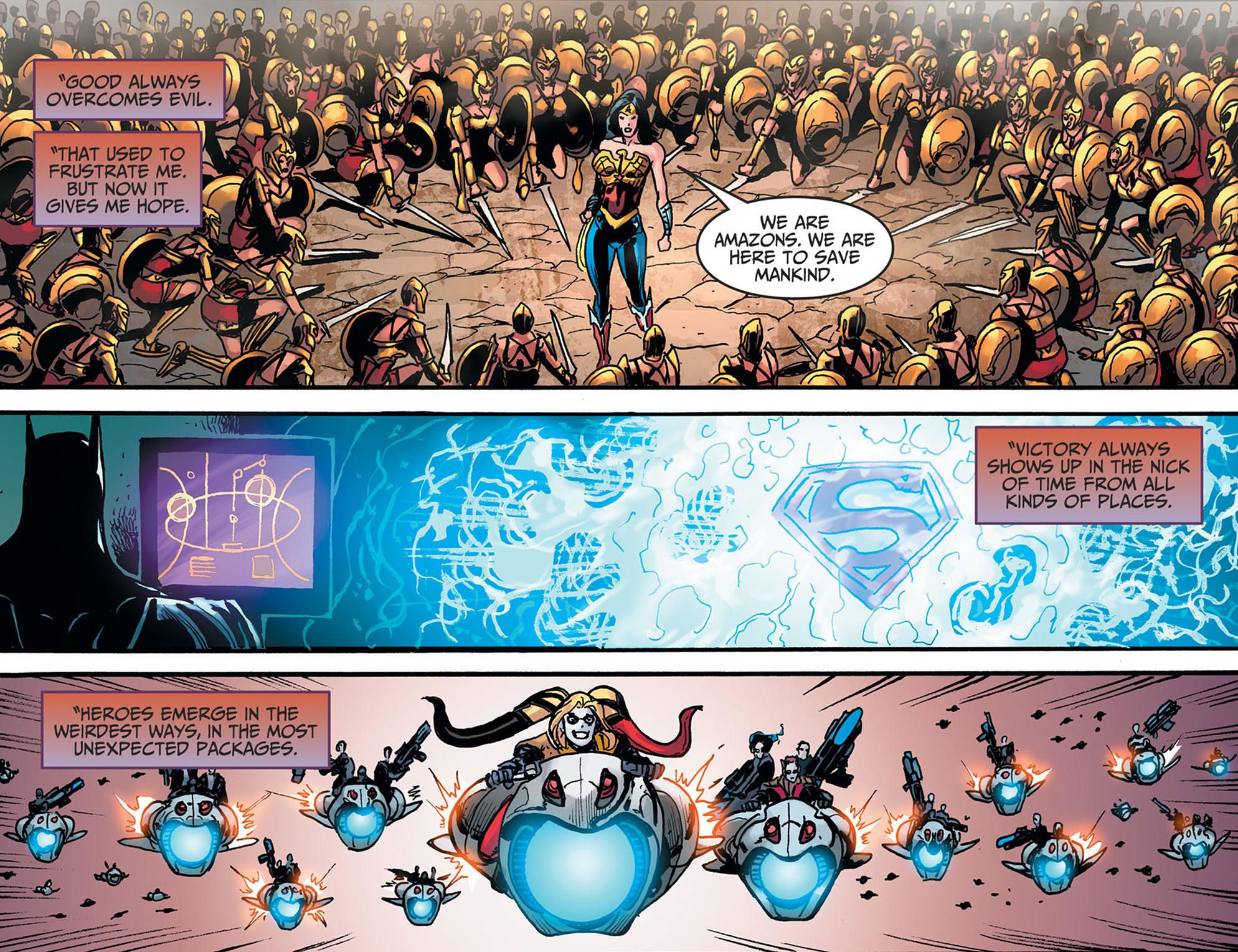 Read online Injustice: Ground Zero comic -  Issue #22 - 22