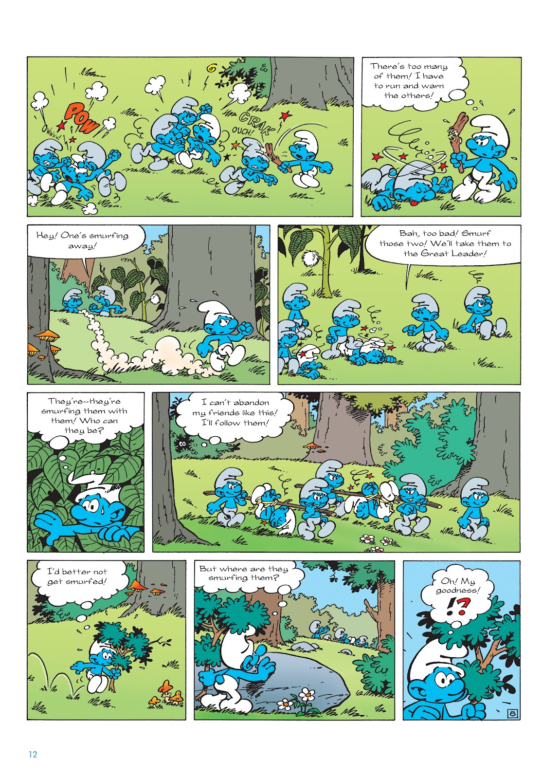 Read online The Smurfs comic -  Issue #22 - 13