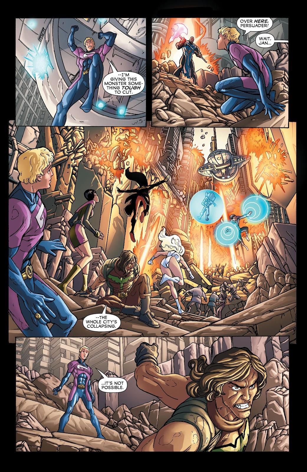 Legion of Super-Heroes (2011) Issue #21 #22 - English 15