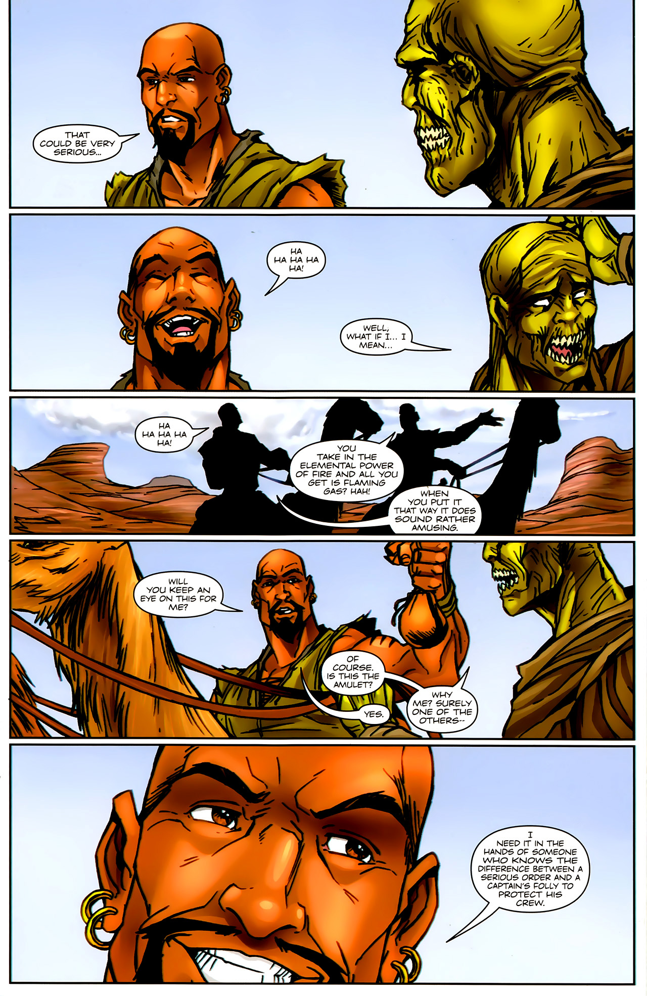 Read online 1001 Arabian Nights: The Adventures of Sinbad comic -  Issue #9 - 13