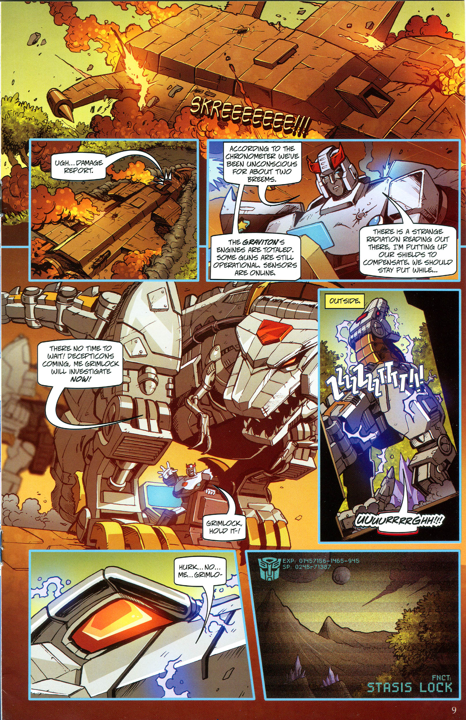 Read online Transformers: Collectors' Club comic -  Issue #49 - 9
