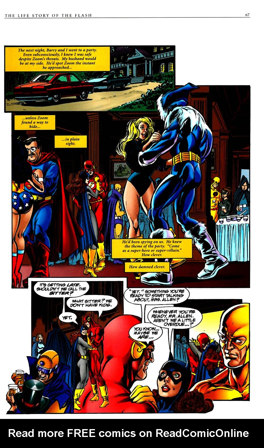 Read online The Life Story of the Flash comic -  Issue # Full - 69