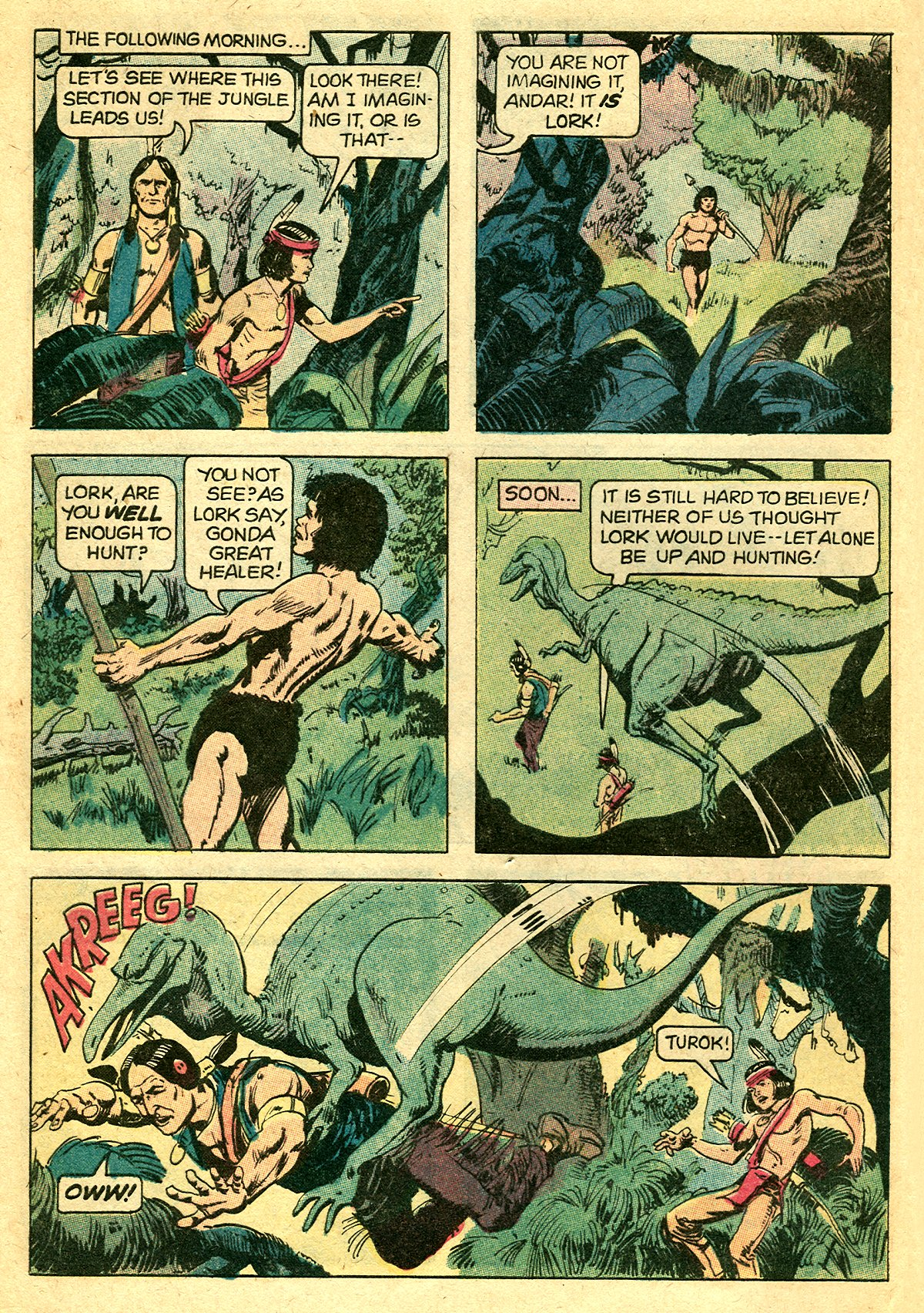 Read online Turok, Son of Stone comic -  Issue #127 - 8