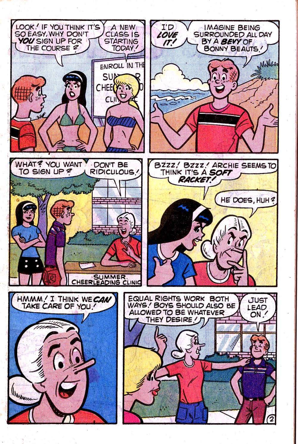 Read online Archie (1960) comic -  Issue #285 - 30