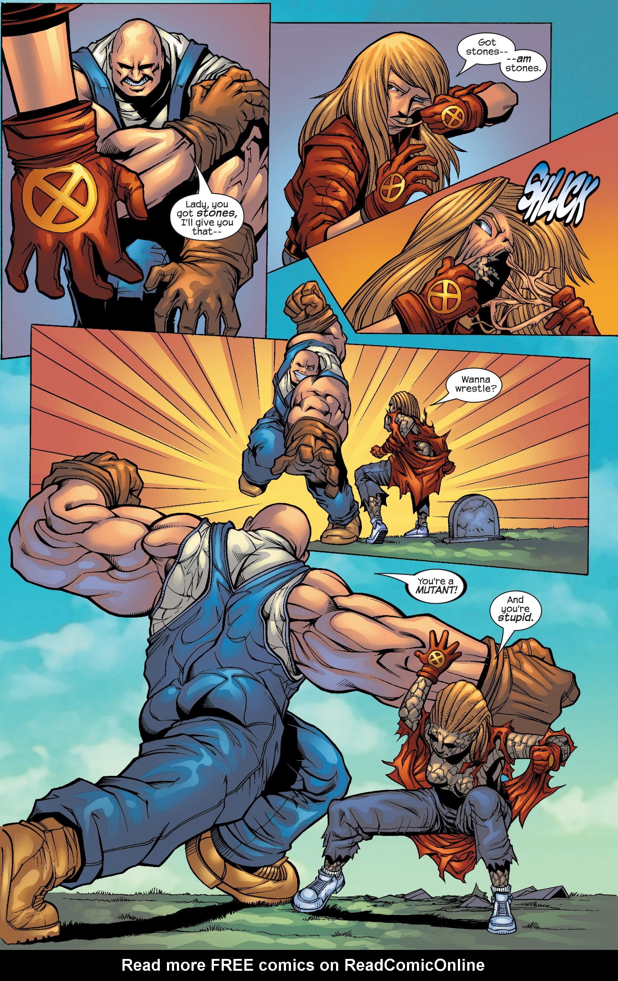Read online Uncanny X-Men (1963) comic -  Issue #427 - 16