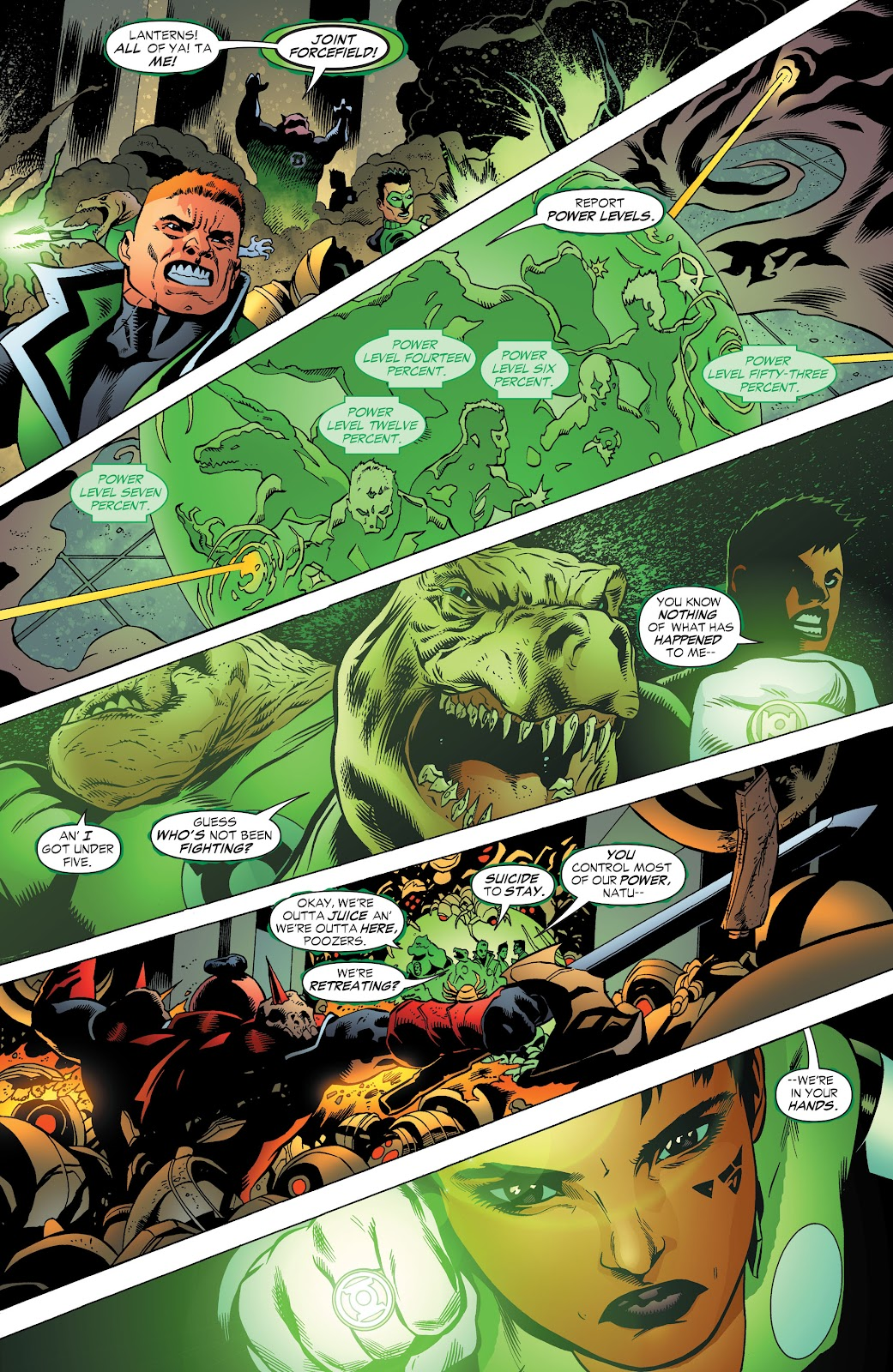 Read online Green Lantern by Geoff Johns comic -  Issue # TPB 1 (Part 3) - 65