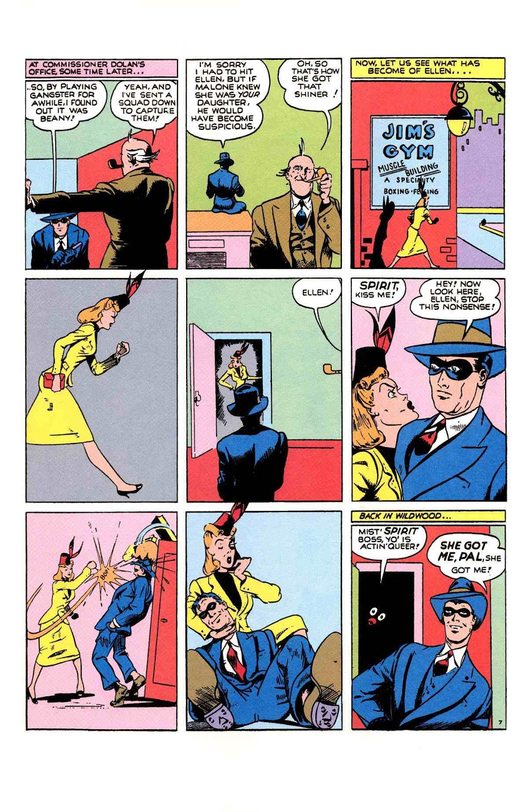 Read online Will Eisner's The Spirit Archives comic -  Issue # TPB 1 (Part 2) - 62