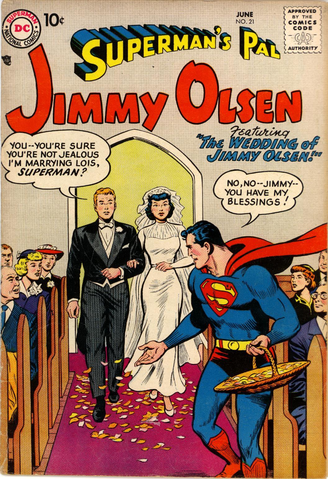 Supermans Pal Jimmy Olsen (1954) 21 Page 1