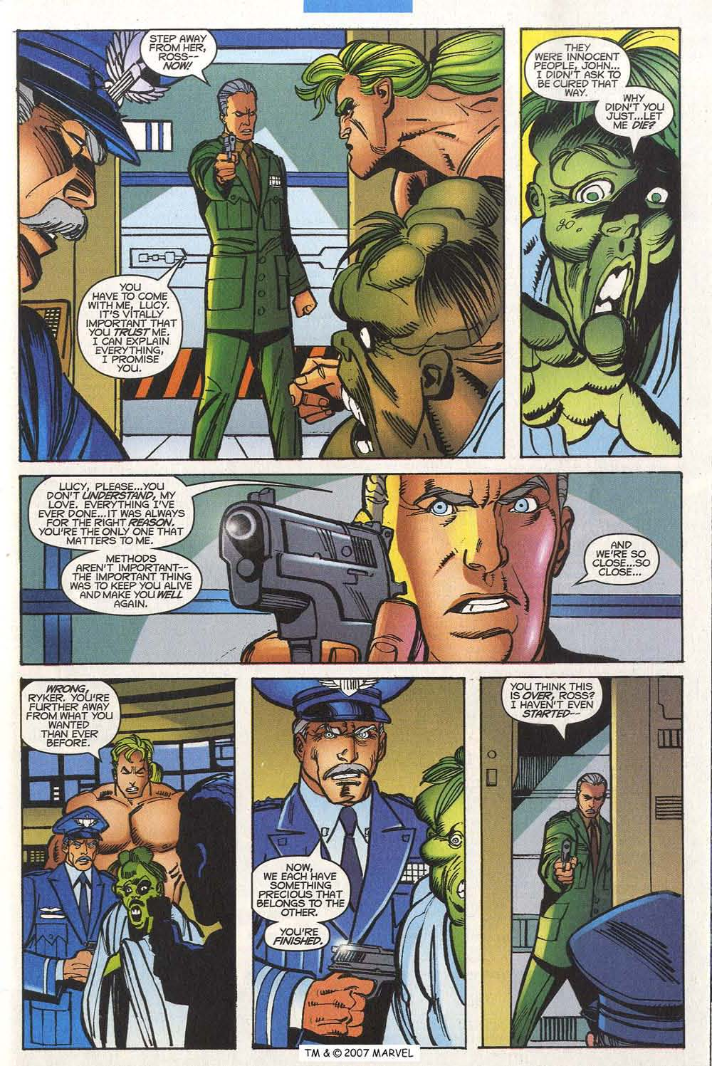 Read online The Incredible Hulk (2000) comic -  Issue #20 - 31