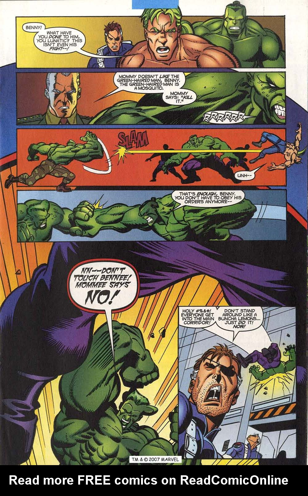 Read online The Incredible Hulk (2000) comic -  Issue #20 - 19