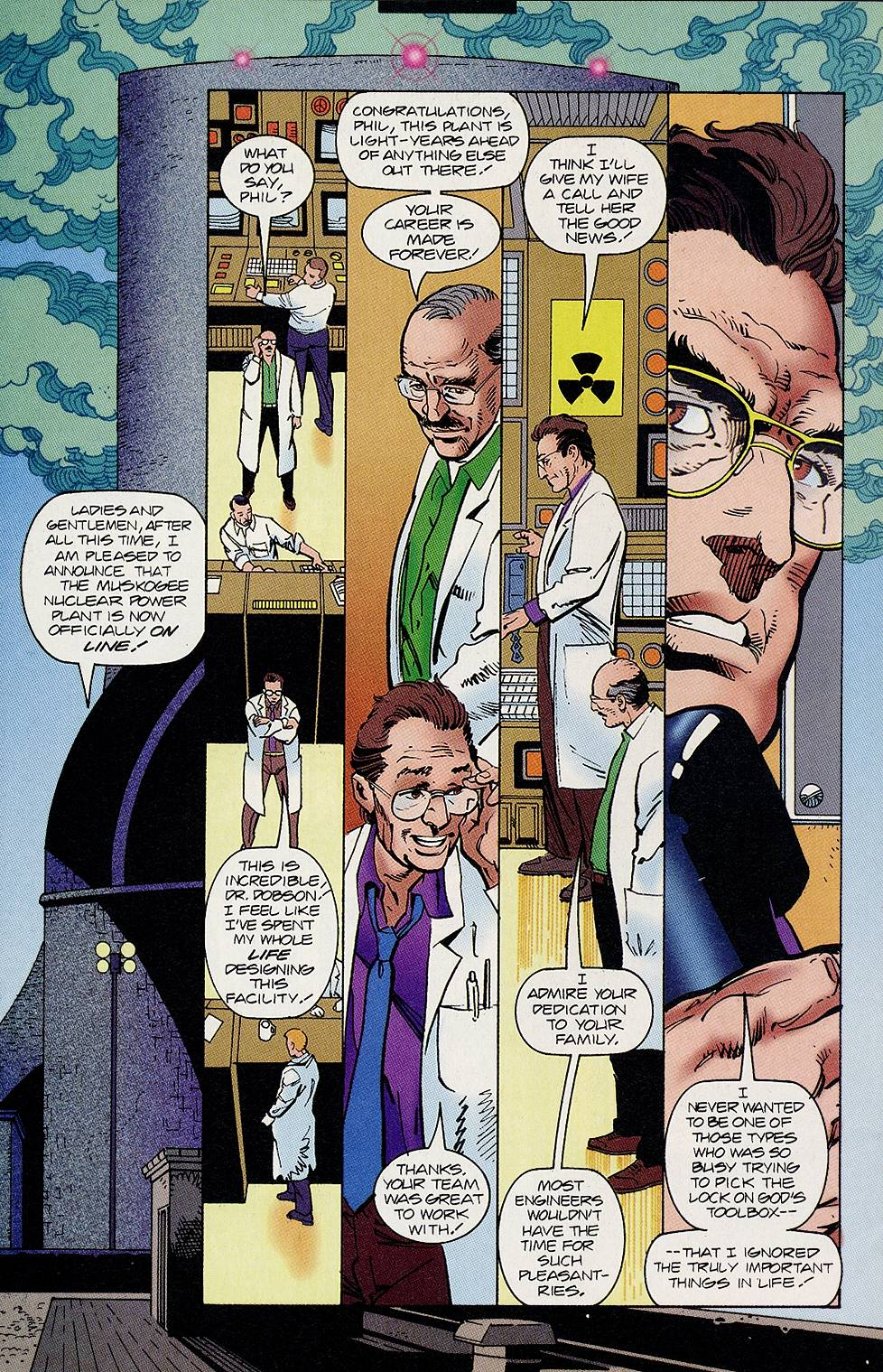 Read online Solar, Man of the Atom comic -  Issue #46 - 21