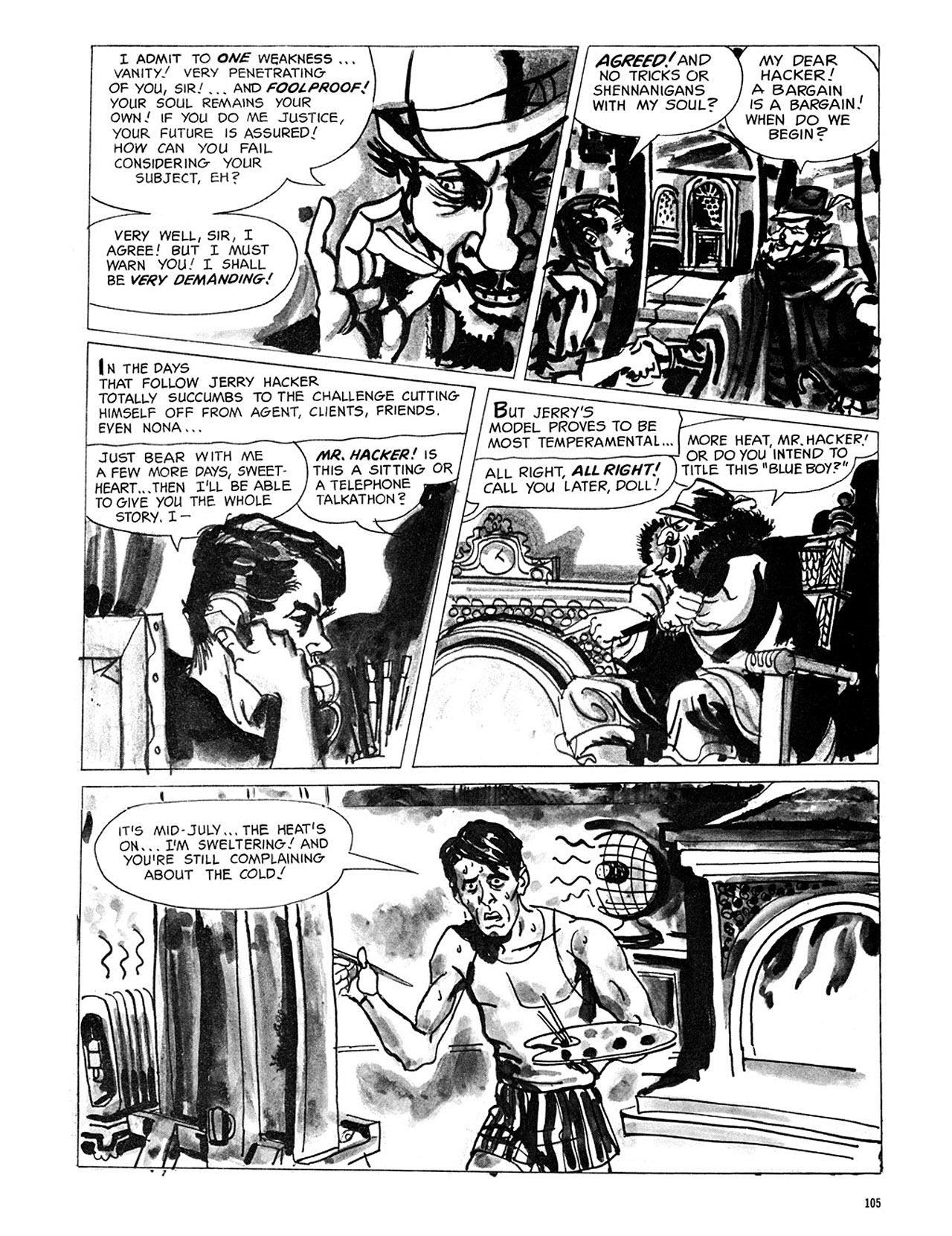 Read online Eerie Archives comic -  Issue # TPB 3 - 106