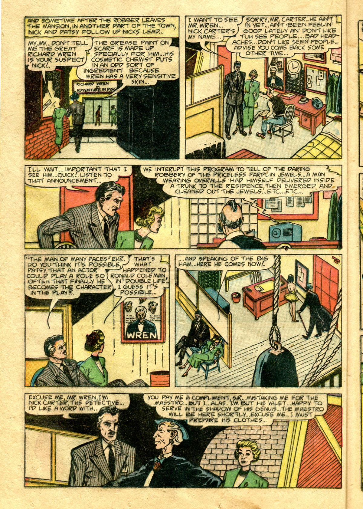 Read online Shadow Comics comic -  Issue #99 - 34
