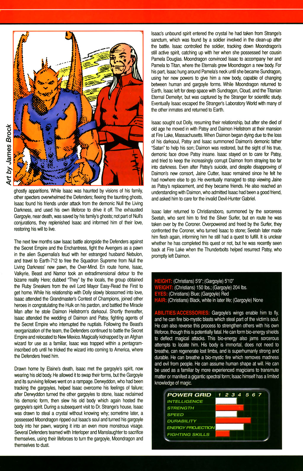 Read online All-New Official Handbook of the Marvel Universe A to Z comic -  Issue #4 - 55
