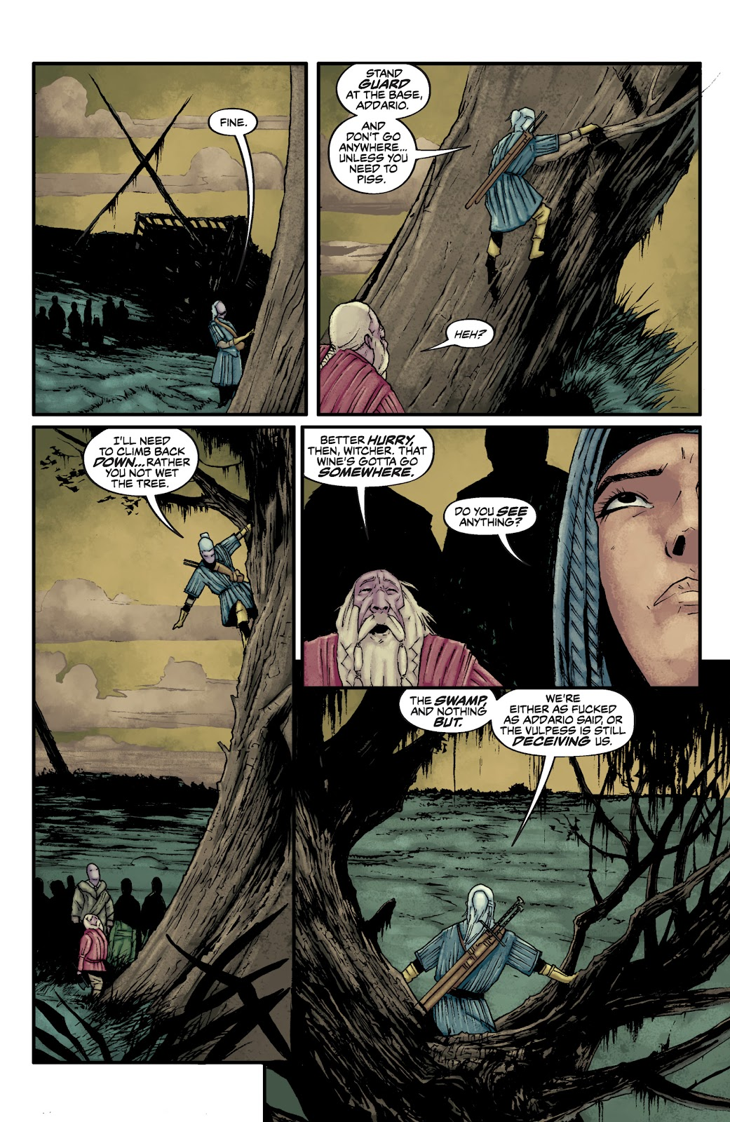 Read online The Witcher Omnibus comic -  Issue # TPB (Part 2) - 72