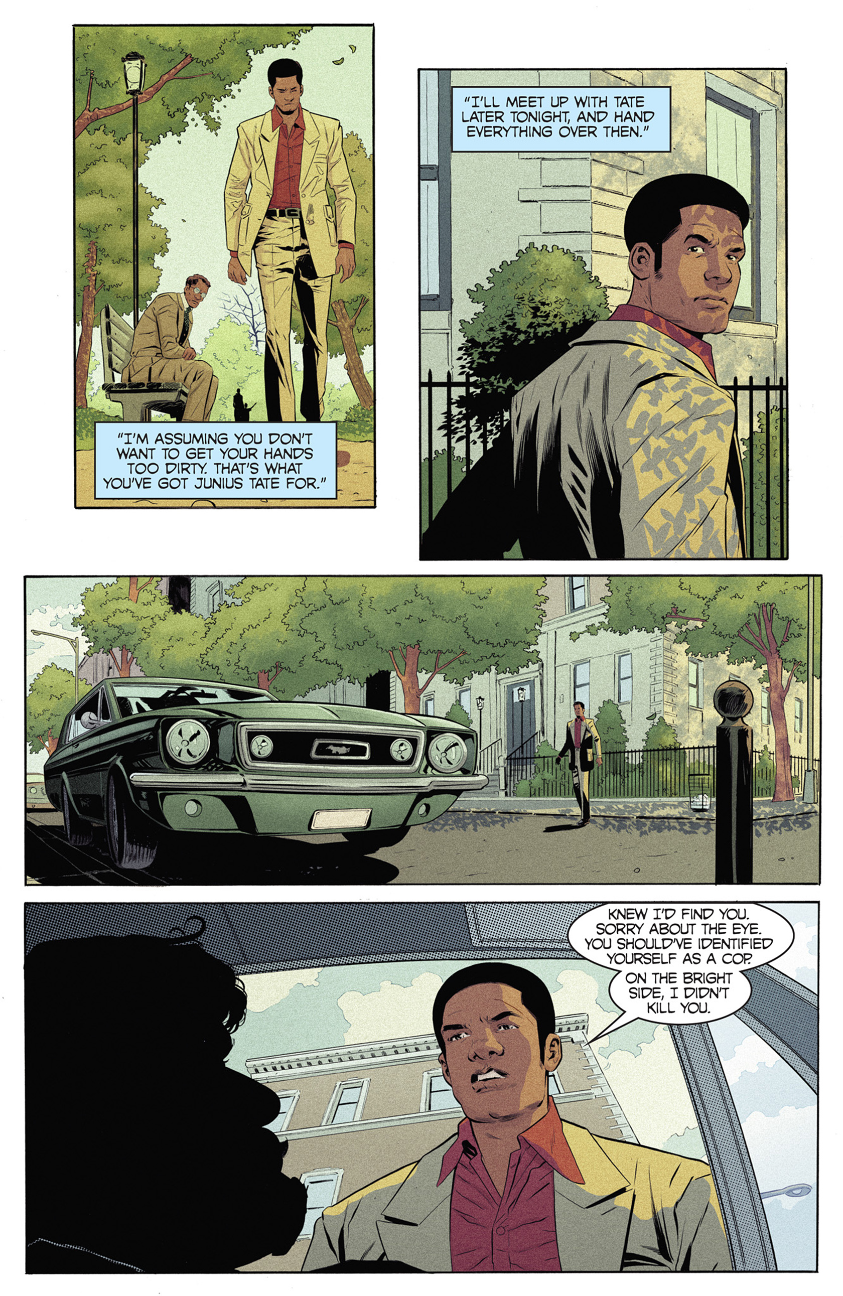 Read online Shaft comic -  Issue #5 - 20