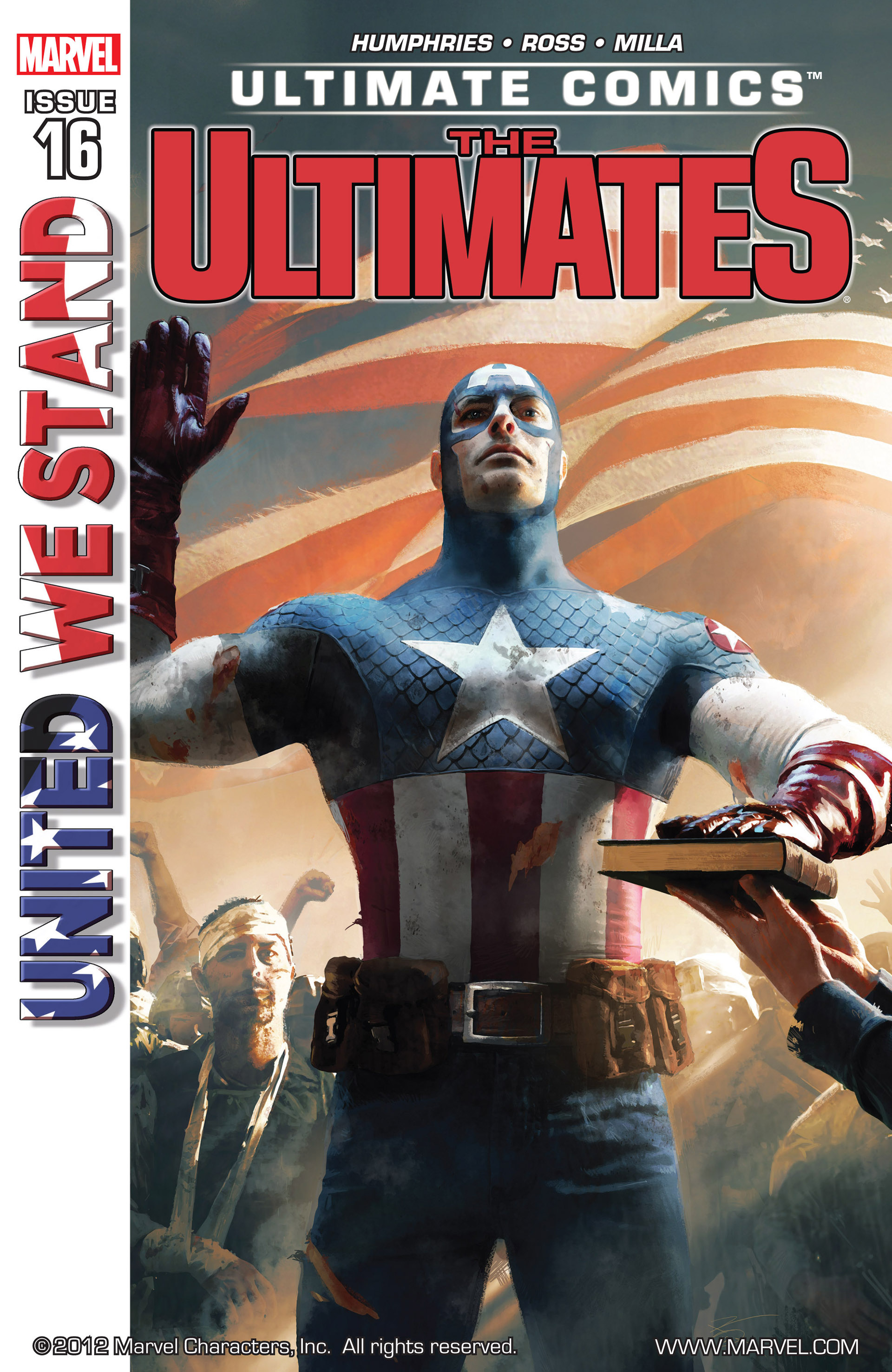 Read online Ultimate Comics Ultimates comic -  Issue #16 - 1