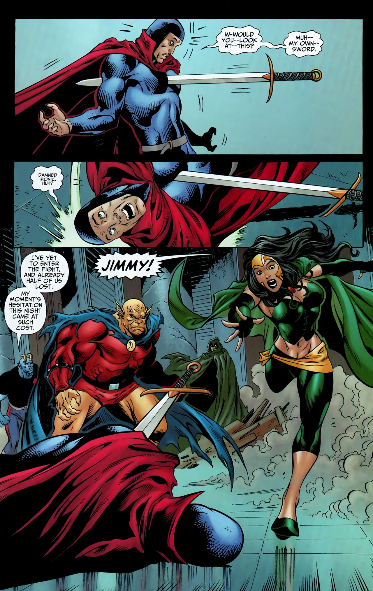 Read online Shadowpact comic -  Issue #9 - 16