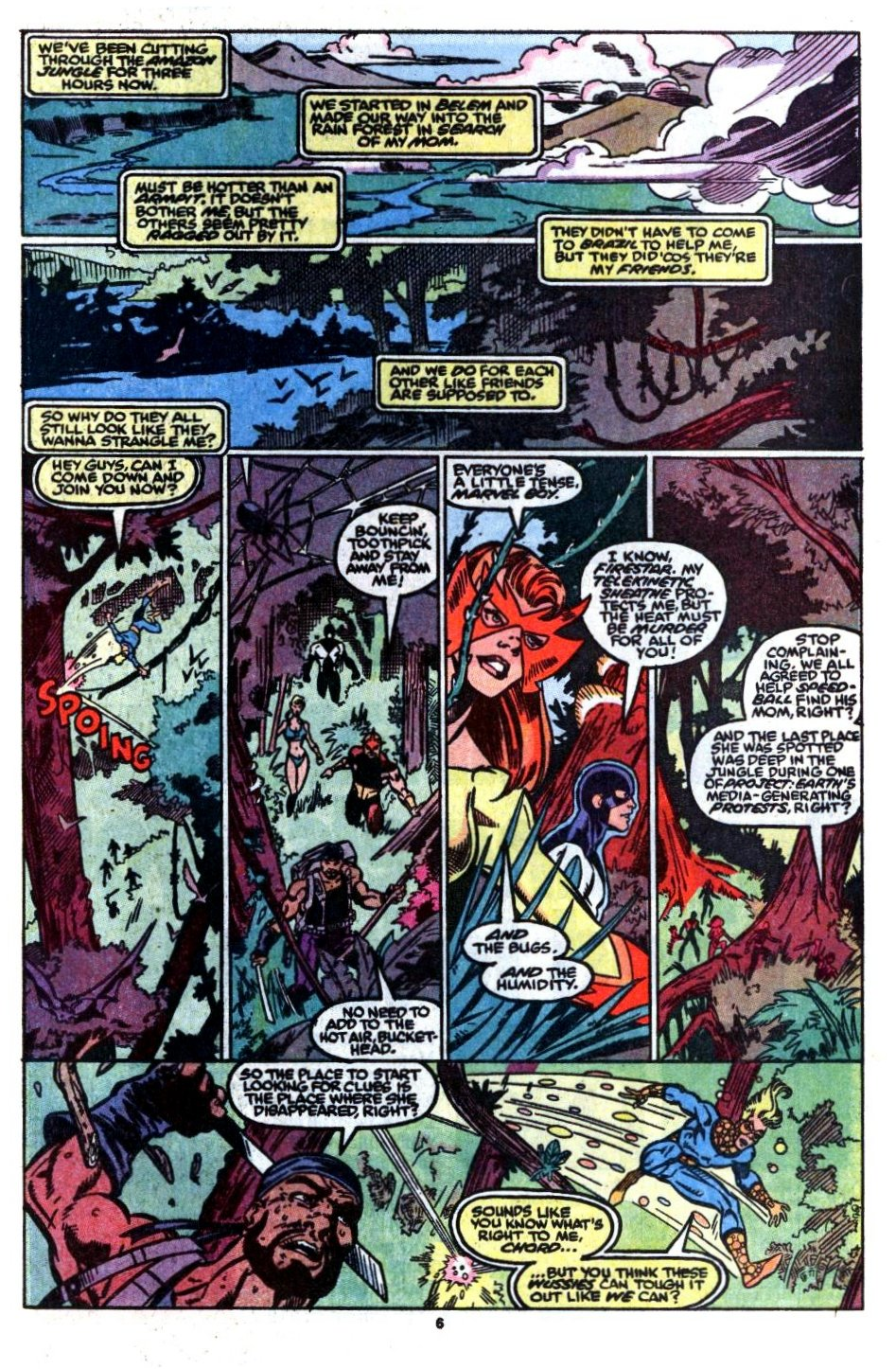 The New Warriors Issue #8 #12 - English 7