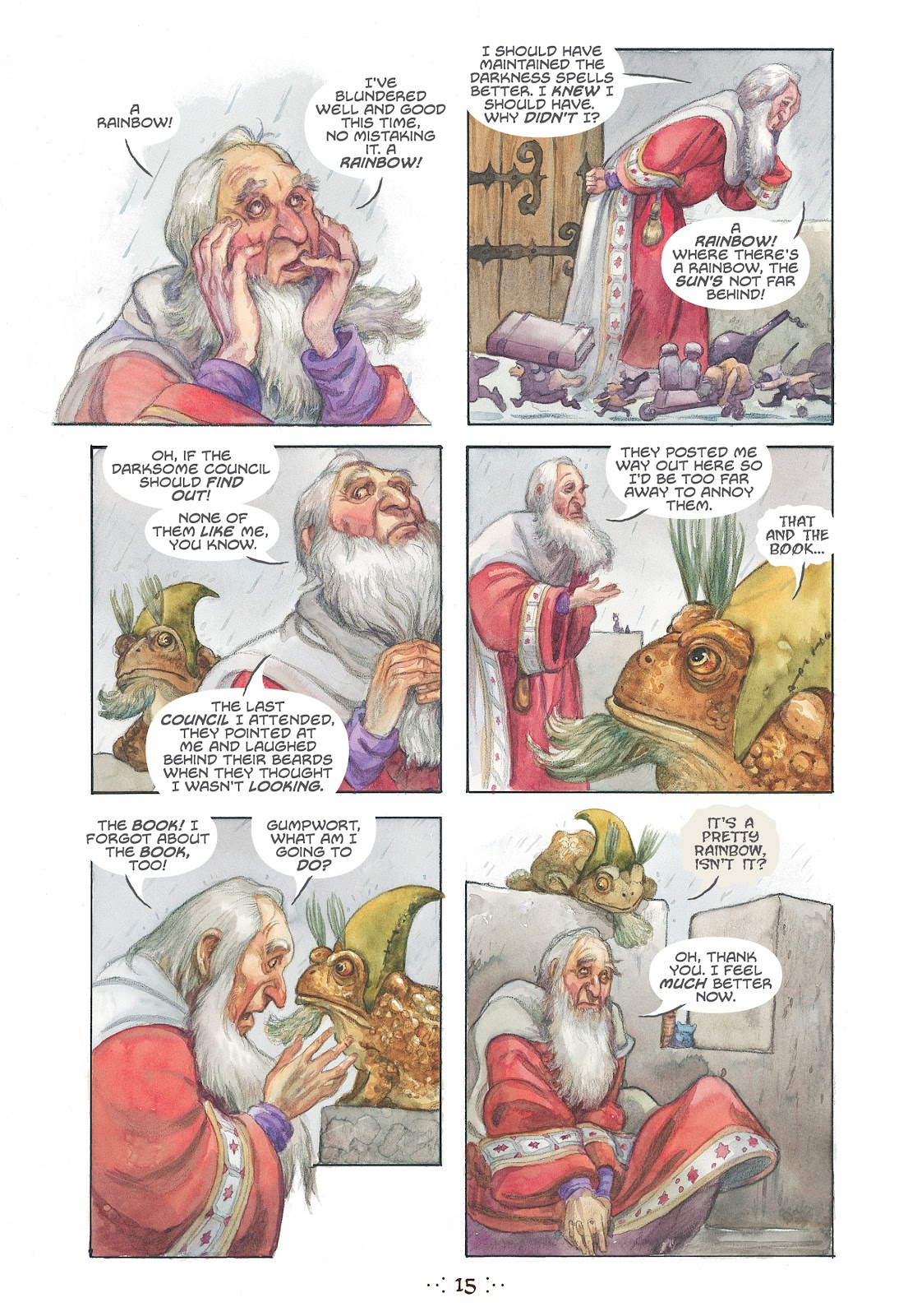 Read online The Wizard's Tale comic -  Issue # TPB - 14