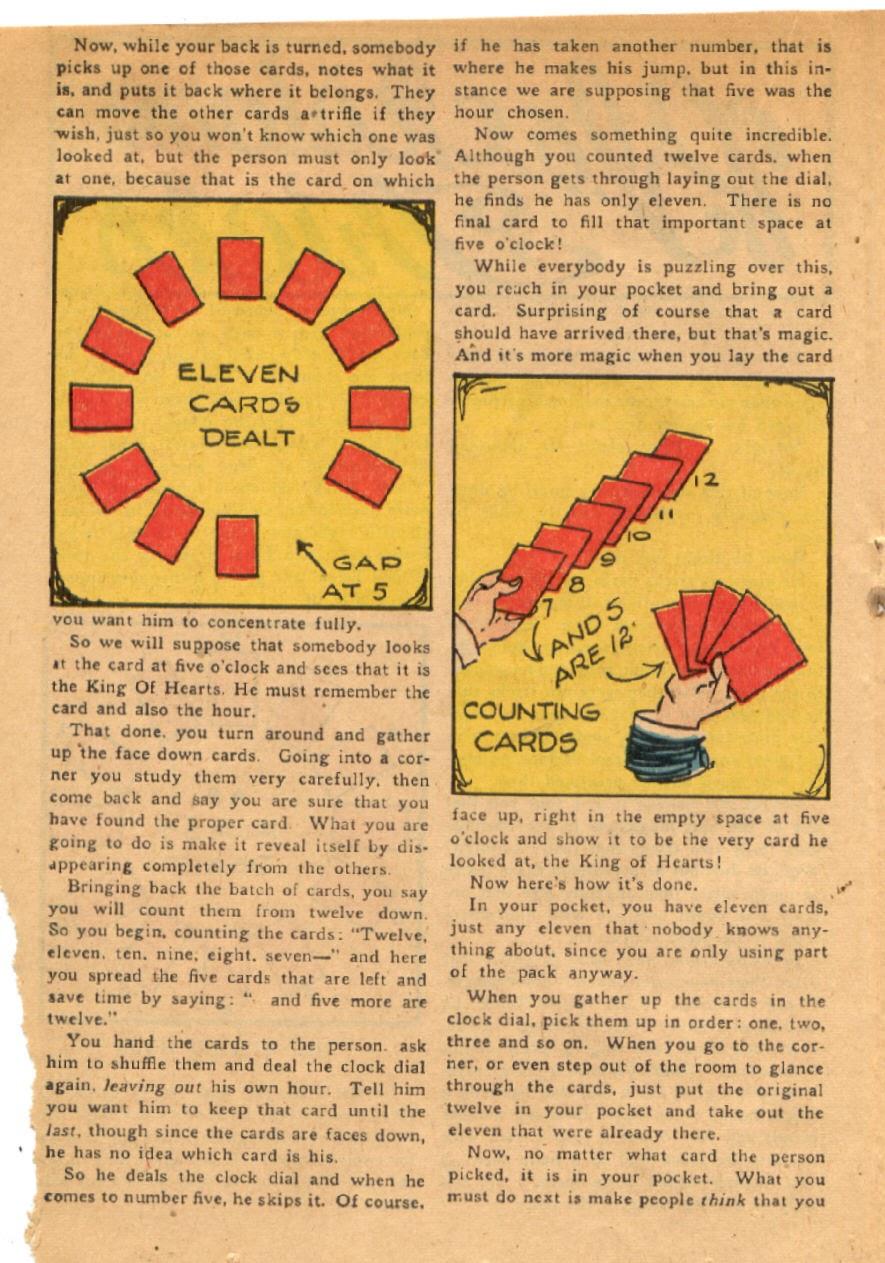 Read online Super-Magician Comics comic -  Issue #43 - 24