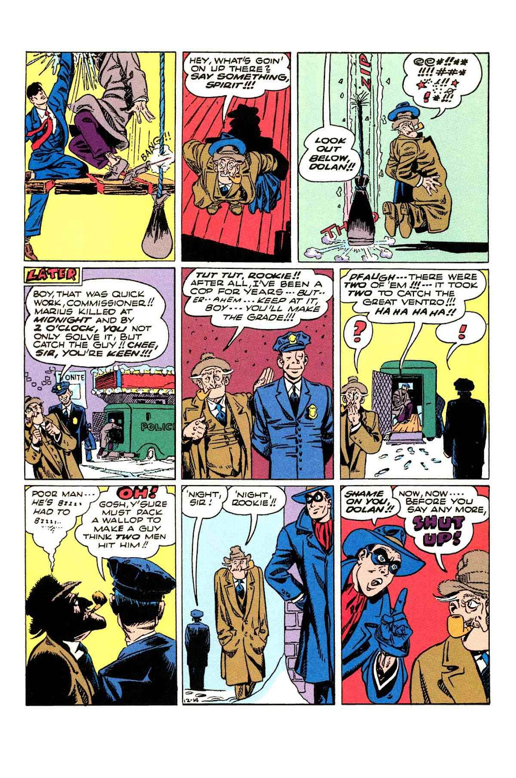 Read online Will Eisner's The Spirit Archives comic -  Issue # TPB 3 (Part 2) - 93