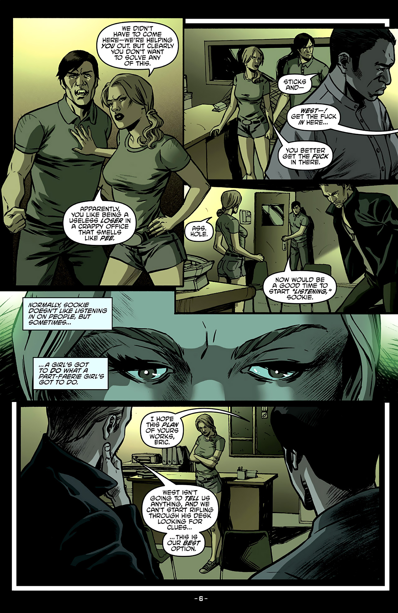 Read online True Blood: French Quarter comic -  Issue #4 - 11