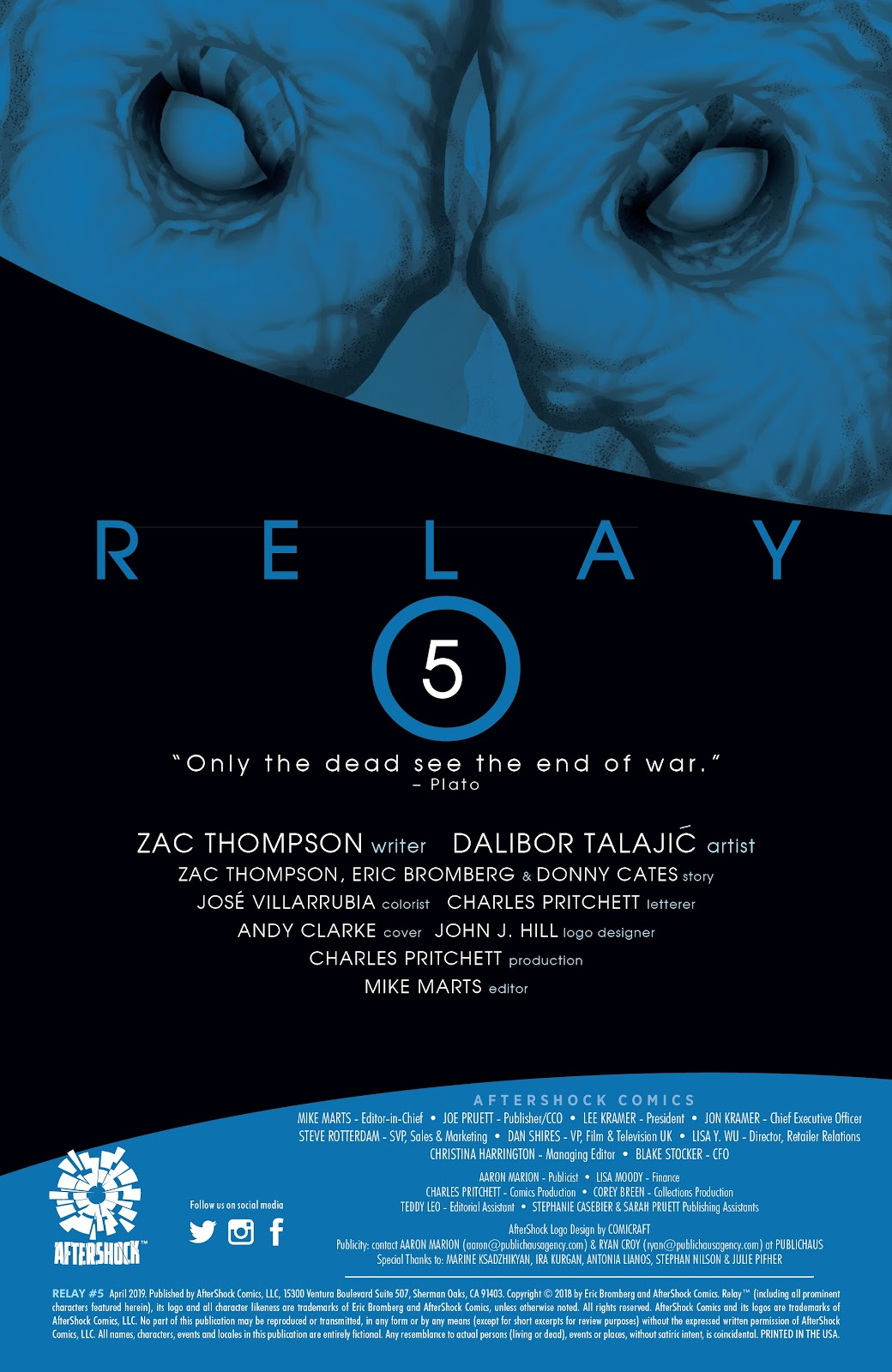 Read online Relay comic -  Issue #5 - 2