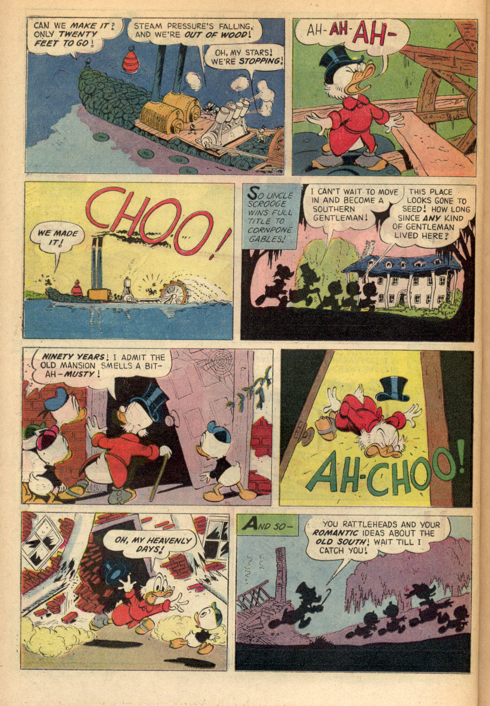 Read online Uncle Scrooge (1953) comic -  Issue #72 - 22