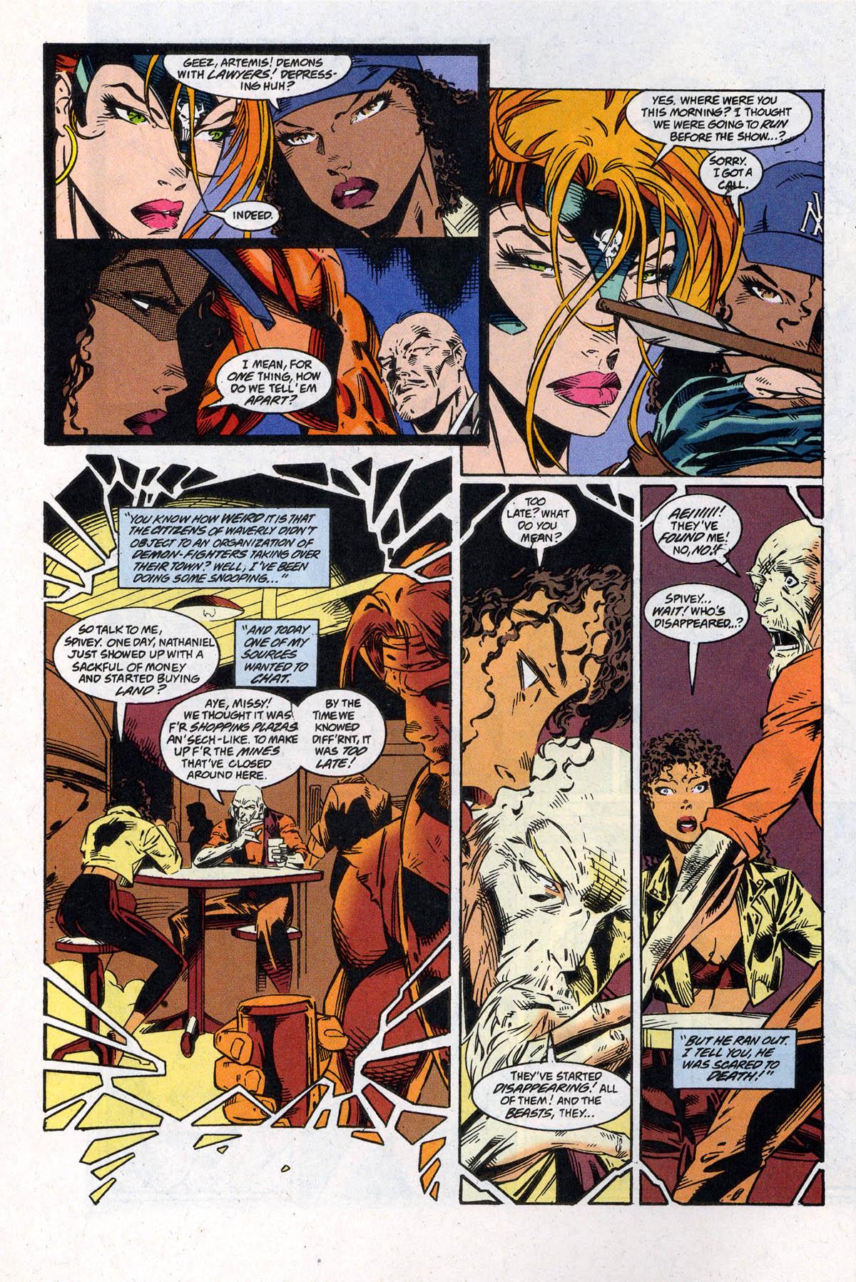 Read online Artemis: Requiem comic -  Issue #4 - 12