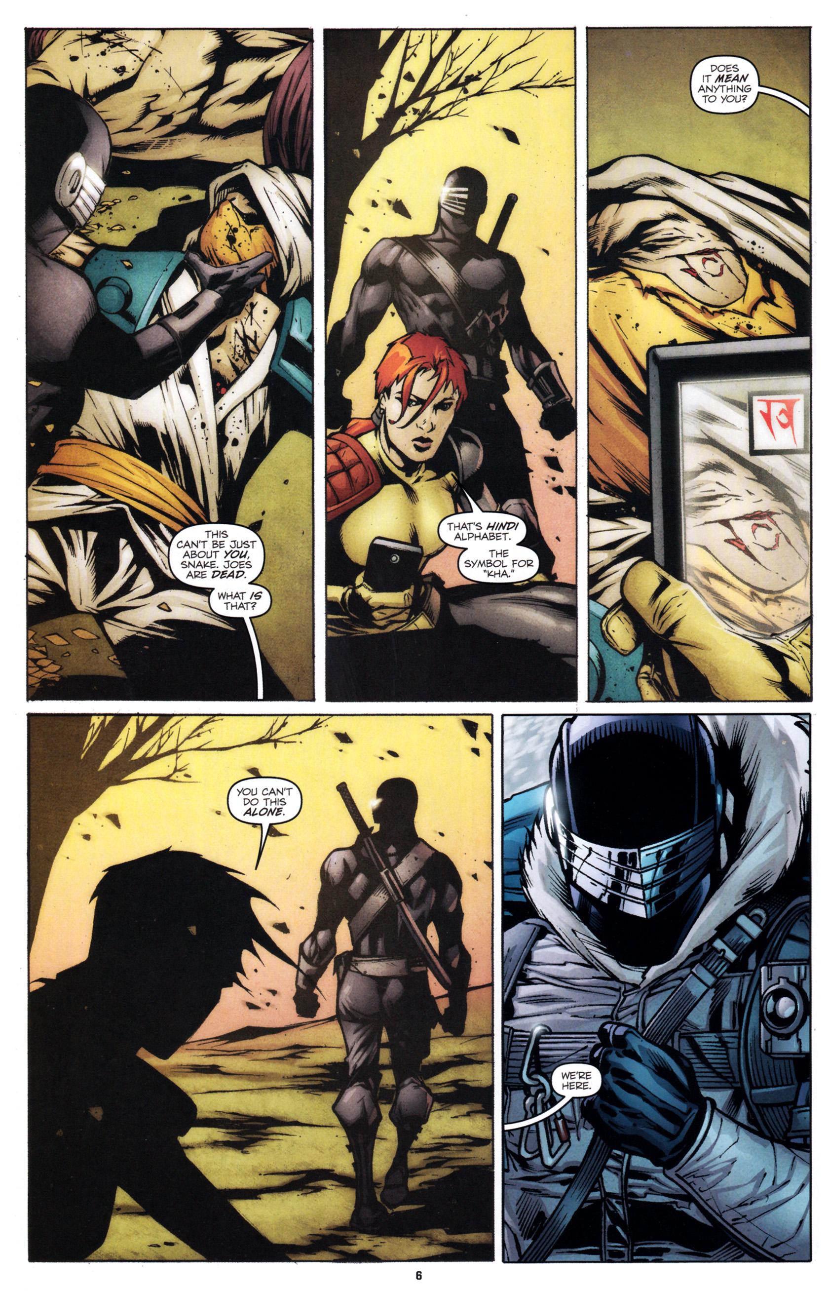 Read online G.I. Joe: Snake Eyes comic -  Issue #1 - 9