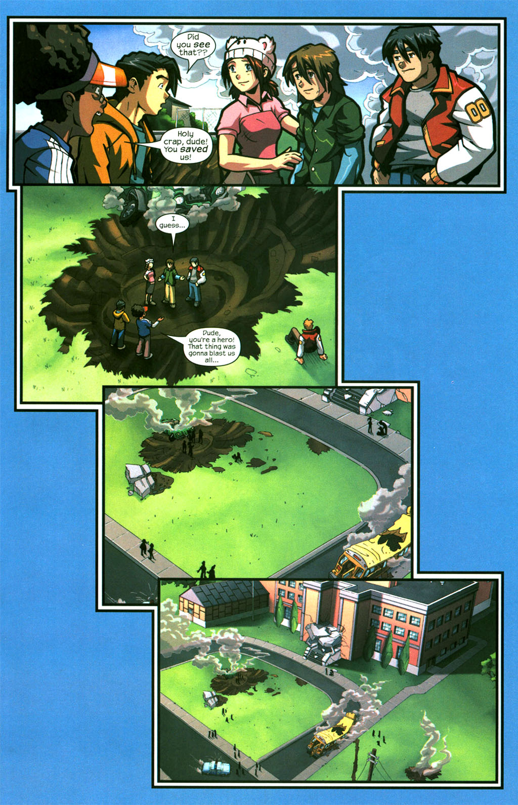 Read online Sentinel comic -  Issue #6 - 13